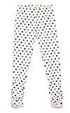 Bienzoe Mädchen Strick Baumwolle Stretch Schuluniform Spitze Antistatische Legging 3 Packung Drucken Größe 8 - 4