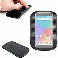 DURAGADGET Alfombrilla Antideslizante Para Smartphone Xiaomi Mi A1 - ¡Ideal Para El Salpicadero Del Coche