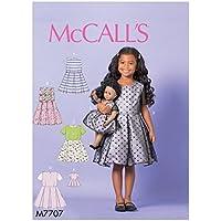 MCCALL 's Patrones de Costura para Vestidos de muñeca (niño/niña, Tejido, 17x 0,5x 0,07cm