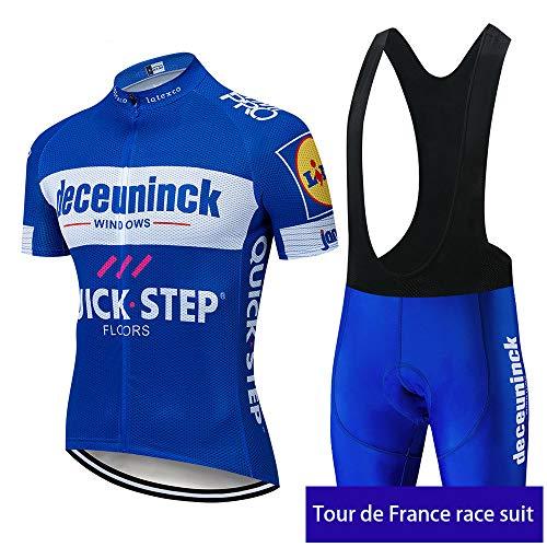 irugh Ensemble Cyclisme Homme Maillot Cuissard...
