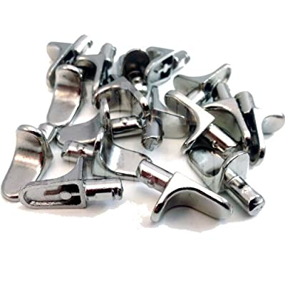 12 PACK OF METAL 5mm (M5) SHELF SUPPORT STUD PEGS, KITCHEN CABINETS IKEA STEEL PEG PLUG IN