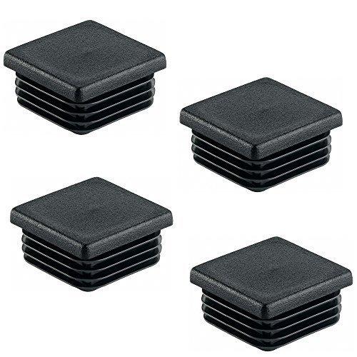 Ajile/® 16 piezzas ERF120-FBA Tapon redondo para pata de silla y almehadillas 20 mm DIAMETRO EXTERIOR con suela de fieltro contra ruido y ara/ñazos