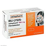 IBU-LYSIN-ratiopharm 684mg 50 stk