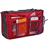 Bag Organizer - Multi Functional Storage Bag - Red