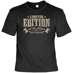 T-Shirt - Limited Edition Seit 40 Jahren - lustiges Sprüche Shirt als Geschenk für Geburtstagskinder mit Humor