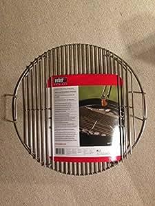 weber 7434 grillrost bbq 47 cm klappbar aus edelstahl k che haushalt. Black Bedroom Furniture Sets. Home Design Ideas