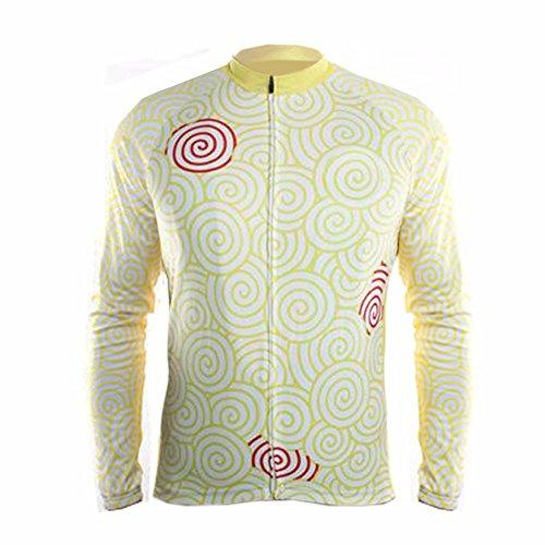 Uglyfrog #33 Neue Männer Radfahren Langarm Radfahren Jersey Winter with Fleece eine Menge Farben Antislip Ärmel Cuff Road Bike MTB Top Riding Shirt
