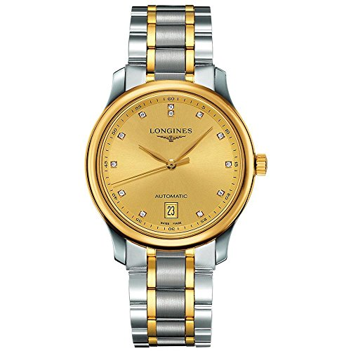 LONGINES MEN'S STEEL YELLOW GOLD BRACELET & CASE AUTOMATIC WATCH L26285377