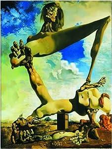 Editions Ricordi 2901N26085 - Puzzle de 1500 Piezas del Cuadro Construcción Suave con alubias hervidas de Dalí