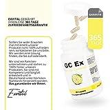 GC Ex, 1500 mg Garcinia Cambogia Extrakt, 90 Kapseln in Premiumqualität, hochdosiert, 100% natürlich 1er Pack (1x 77g) - 6