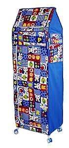 Amardeep and Co XL Multipurpose Toy Box Rabbit (Blue) - ALE01-Blue-Rabbit
