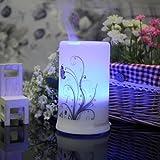 Signstek 100ML Aroma Diffusor Luftbefeuchter Ultraschall LED mit Vier verschiedenen Arbeitsdauer