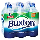Buxton Still Natural Mineral Water Sports Cap Bottle, 6 x...