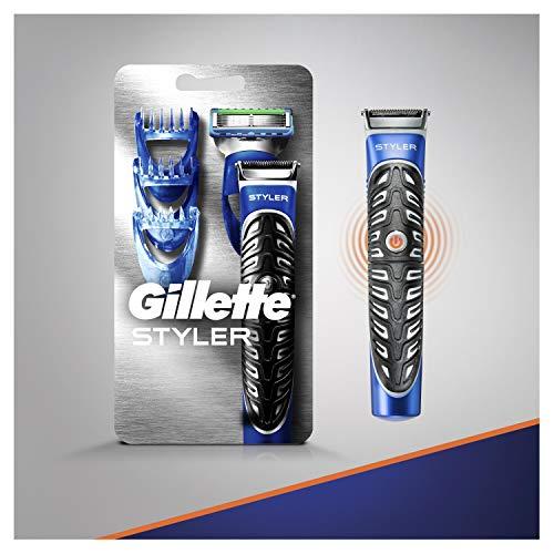 Gillette Fusion ProGlide Styler Rasoio a Batteria con Regolabarba, Regola, Rade e Rifinisce, con 1 Lametta di Ricambio - 8