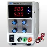 SKYTOPPWER Fuente de alimentación regulable DC 0 - 30V 0 - 5A EU Plug