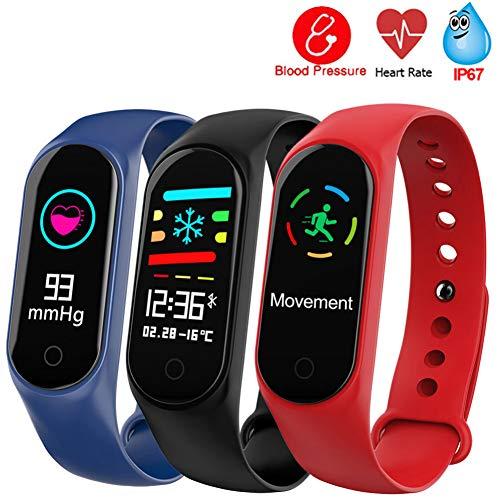 SPOERHXD Pulsera Inteligente M3 Monitor de Ritmo cardíaco GPS Rastreador de Ejercicios...