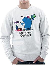 Mr Men Monsieur Cocktail Men's Sweatshirt