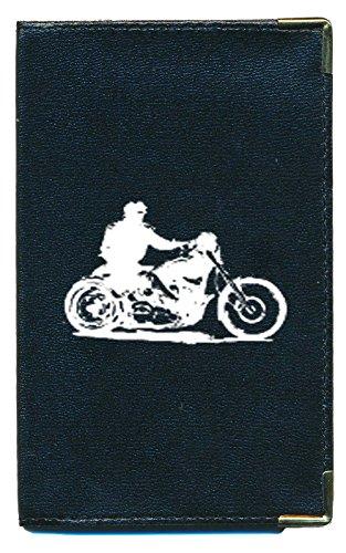 Pochette Etui Protection Porte Carte Grise - papiers voiture - permis de conduire Moto style Harley