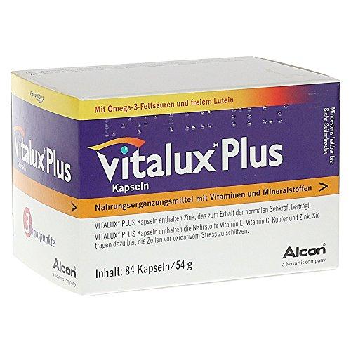 Vitalux Plus Lutein und Omega 3, 1er Pack (1 x 84 Stück) - 3 84