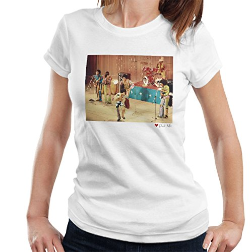 Don't Talk To Me About Heroes David Redfern Official Photography - The Jackson 5 At The Royal Variety Performance White Women's T-Shirt