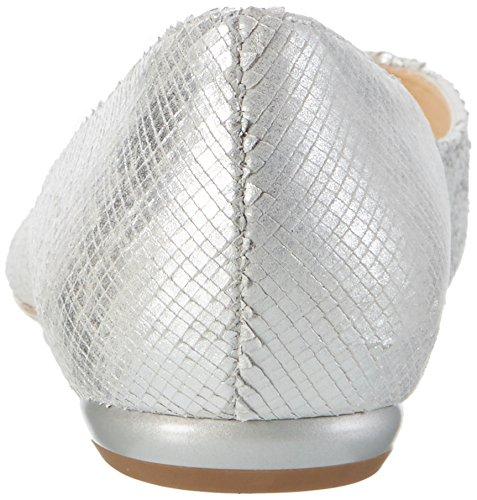 HÖGL 3-10 0006 7600, Ballerine Donna Argento (Silber7600)