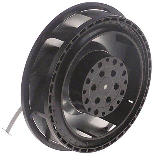 Rieber Lüftermotor für Speisetransportbehälter Thermoport 1000KB 230V 50Hz D1 ø 138mm AC