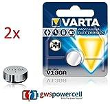 GWS-POWERCELL® VARTA PROFESSIONAL ELECTRONICS V13GA jeweils im Einzelblister verpackt / NEU & OVP (V13GA, 2 Stück)