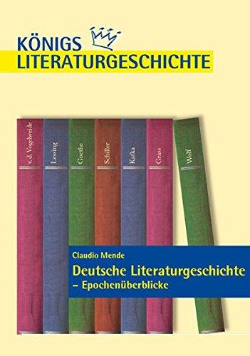 Deutsche Literaturgeschichte - Epochenüberblicke