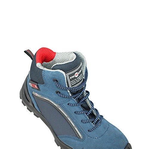 Aimont faber s1P sRC chaussures de travail chaussures chaussures berufsschuhe businessschuhe (bleu) Bleu