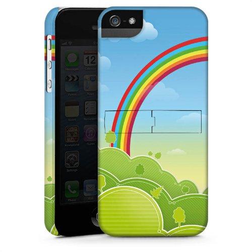 Apple iPhone 6 Housse Étui Silicone Coque Protection Arc-en-ciel Bande dessinée Forêt CasStandup blanc