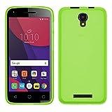 TBOC® Grün Gel TPU Hülle für Alcatel Pixi 4 (5) 3G