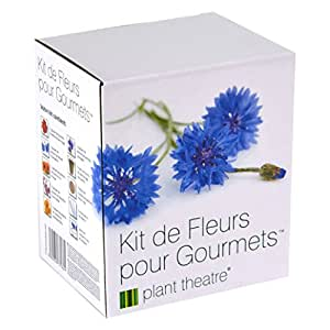 Il Kit Fiori Gourmet di Plant Theatre - 6 varietà di fiori commestibili da coltivare - regalo ottimale