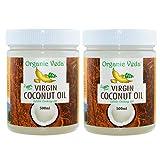 #7: Organic Veda Virgin Coconut Oil (500ml, Pack of 2)