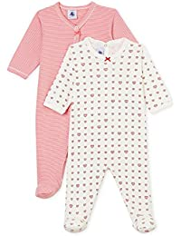 Petit Bateau Lot Db Fil, Camiseta de Pijama para Bebés (Pack de 2)