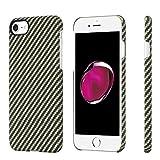 Minimalistische iPhone 7 Hülle, PITAKA Amarid Faser [Kugelsicheres Material] Handyhülle, dünnste...