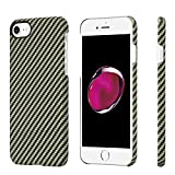 Minimalistische iPhone 7 Hülle, PITAKA Amarid Faser [Kugelsicheres Material] Handyhülle, dünne...