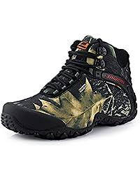 Newbestyle Femme Chaussures Automne et Hiver Bottes Cheville Lacets Rivet Moto CuirBottes 9JFE4Ds1e