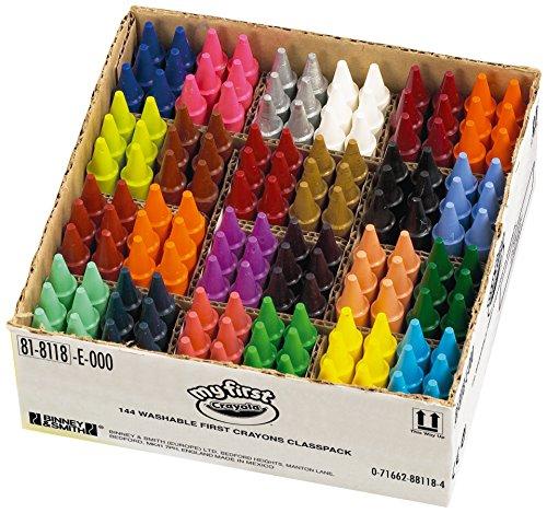 Crayola - 81-8118 - Education - Classpack De 144 Crayons À La Cire Mini Kids