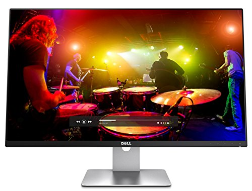 Dell S2715H 27-inch IPS Monitor (6 ms Response Time, Full HD 1920 x 1080 at 60 Hz, HDMI/USB/VGA, Integrated Speaker) - Black
