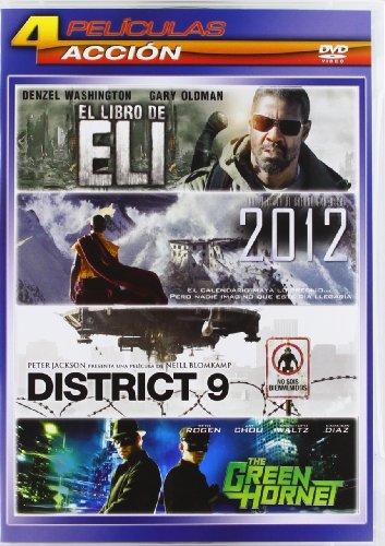 2012 / District 9 / Green Hornet / El Libro De Eli [Spanien Import]