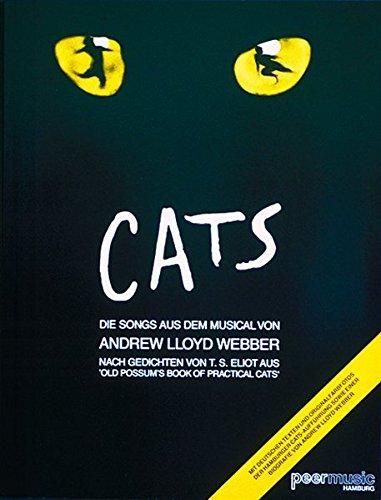 Cats - Songs Aus Dem Musical: Noten, Sammelband für Klavier, Gesang, Gitarre