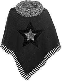 BEZLIT - Gilet - Cape - Imprimé Cachemire - Col Mao - Sans Manche - Fille