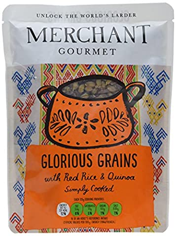 Merchant Gourmet Glorious Grains with Red Rice and Quinoa 250 g (Pack of 6)