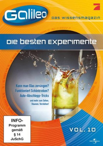 Galileo - Das Wissensmagazin, Vol.10: Die besten Experimente