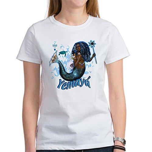 ec69eed6e1315 CafePress YEMAYA T-Shirt - Womens Crew Neck Cotton T-Shirt