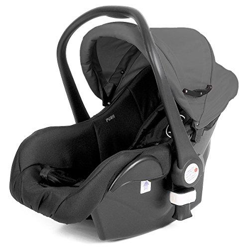 Froogy Autositz (Babyschale) COCOON Gruppe 0, 0+ (bis 13 kg) Anthrazit