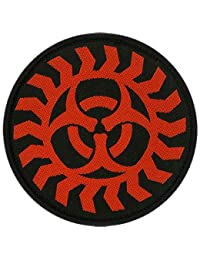 BIOHAZARD (BAND) WOVEN PATCH