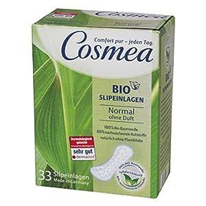 Cosmea Bio Slipeinlagen, Normal ohne Duft, 5er Pack (5 x 33 Stück)