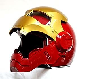 générique masei 610 atomicman racing moto dot casque s m l xl (rouge)