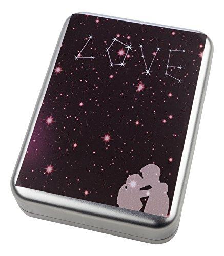 Echte Sternschnuppe kaufen + mit personalisierbarem Zertifikat + Eisenmeteorit + in Geschenkbox + als romantisches Geschenk für Frauen und Freundin